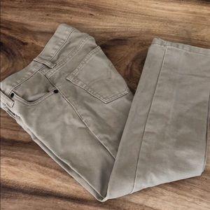 Classic Levi's khaki jeans